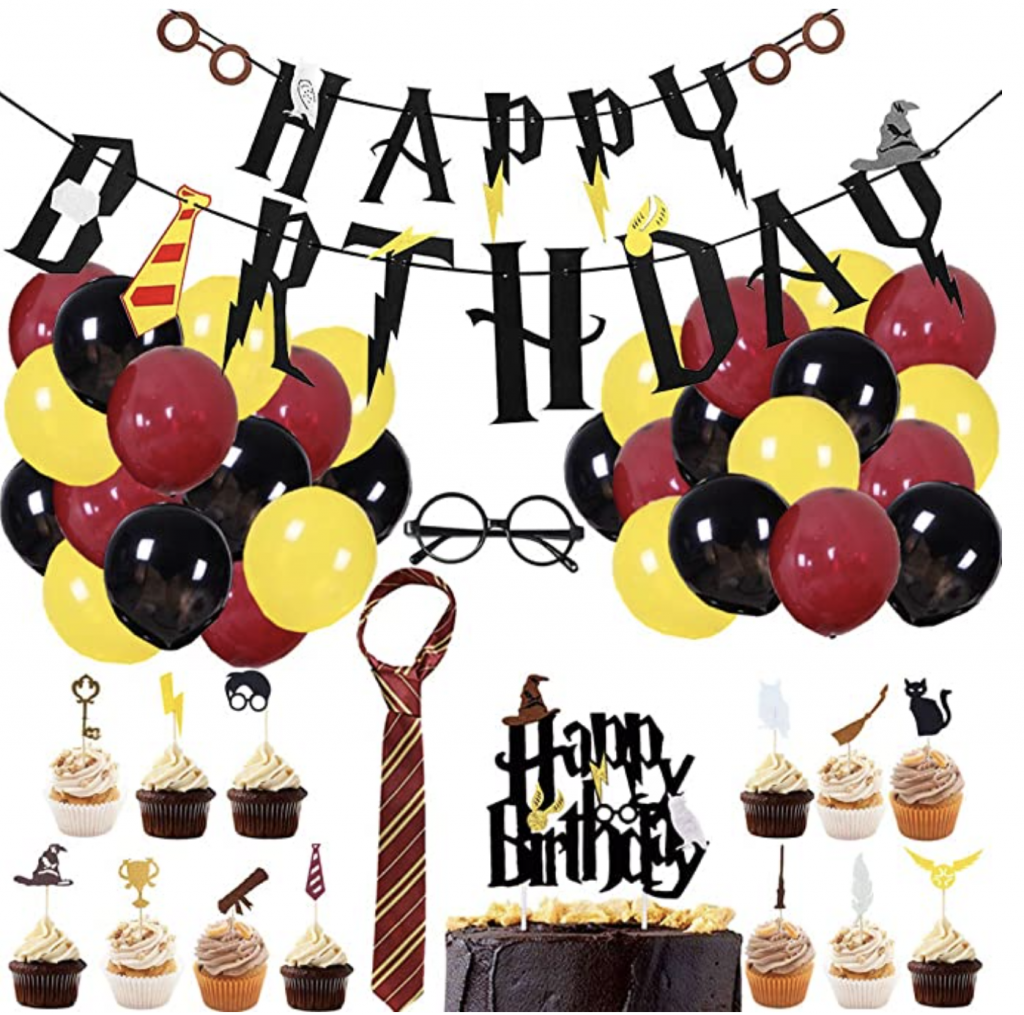 Harry Potter Birthday party Packages
